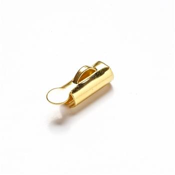 Зажим для лент 10 мм золотой