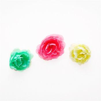 Искусственные цветы роза микс