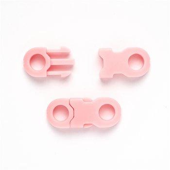 Замок пластиковый розовый