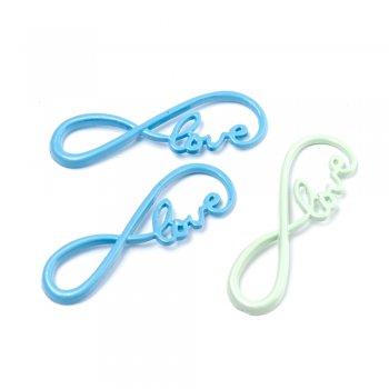 Литі металеві підвіски. Підвіска  Знак  Love.