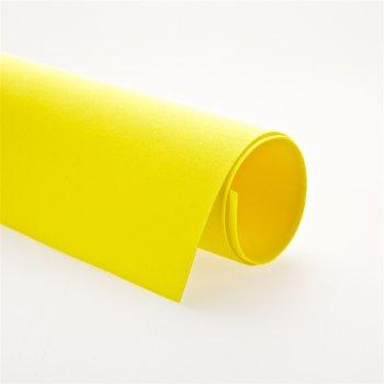 Фоамиран желтый, А4