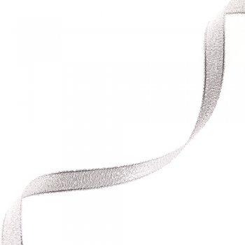 Стрічка люрекс сріблястий