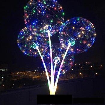 Куля, що світиться, прозора LED 400 мм