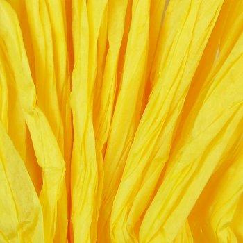 Стрічка паперова рафія. Жовтий.