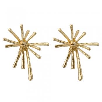 Сережки Золоті Бризги