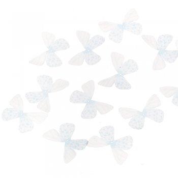 Шовкові метелики блакитні