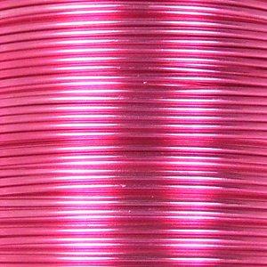 Проволока алюминиевая 1 мм сиренево-розовая