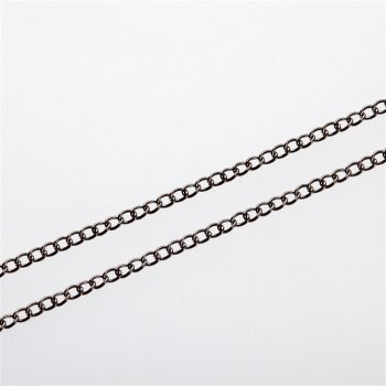 Ланцюг темно-сталева панцирна