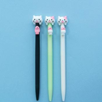 Ручка Кішка Kitti з рибкою