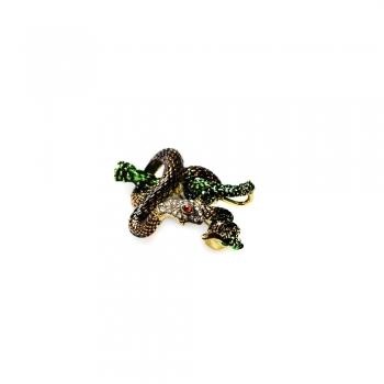 Брошка Змія