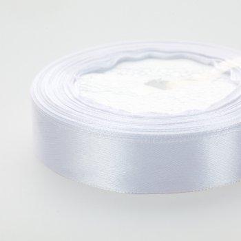 Лента атласная 20 мм белая