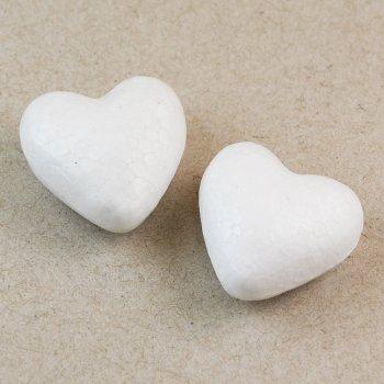 Основа з пінопласту  серце 30 мм