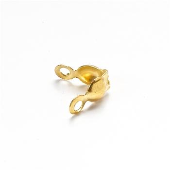 Затискачі для волосіні. Золотий. Діаметр 3 мм, довжина 16 мм.