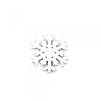 Дерев'яний клейовий елемент Сніжинка