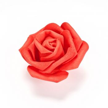 Штучна квітка червона 65 мм