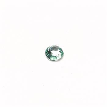 Стрази клейові пластикові 3 мм блакитні уп. 110шт