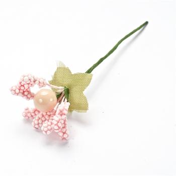 Декоративний елемент Рожева квітка