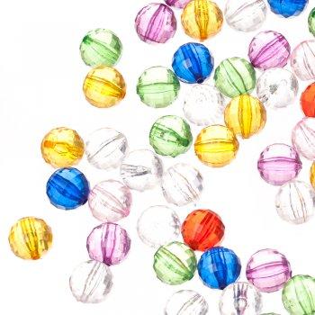 Пластиковые кристаллы фиолетовые
