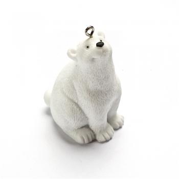 Декоративный элемент полярный мишка