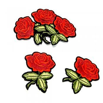 "Тканинна нашивка ""Троянда"""