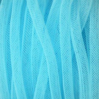 Шнур нейлоновий плетений блакитний