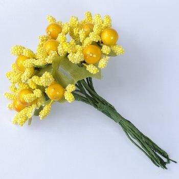 Декоративные элементы Желтые цветы