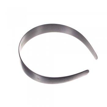 Обруч пластиковый черный ширина 25 мм