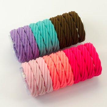 Резинка для волосся мікс кольорів