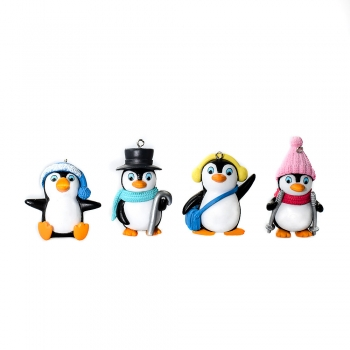 Пластикова підвіска пінгвін