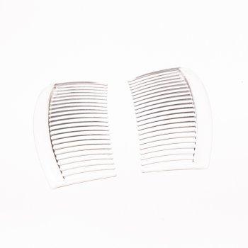 Пластикові гребінці, прозорий, 85 мм