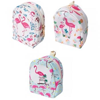 Кошелек-рюкзак Фламинго