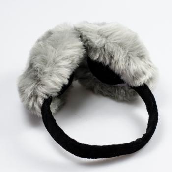 Навушники на зиму сірі