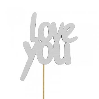 Топпер со словами love you