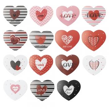 Открытка Валентинка Сердце Love