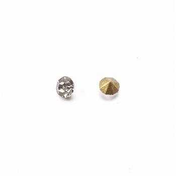 Прозрачный хрусталь конические стразы 2.3-2.4 мм