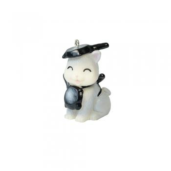 Декоративний елемент Кот зі сковорідкою на голові