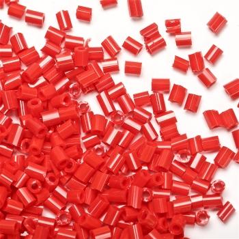 Бісер-рубка червоний глянець 2 мм скло