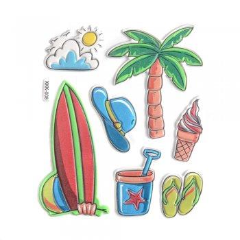 """Наклейки """"Пляж"""""""