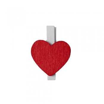 Прищепка деревянная  Сердце