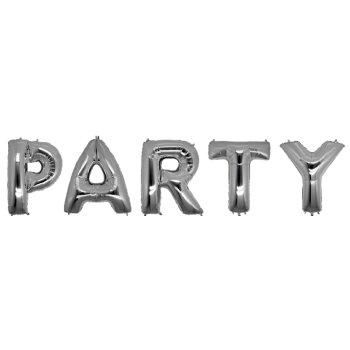 Кульки надувні у вигляді слова PARTY 40 см