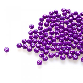 Стекло опаковое одноцветное фиолетовый, 8 мм