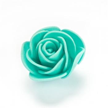 Троянда. Штучна квітка, фоаміран, м'ятний, 35 мм