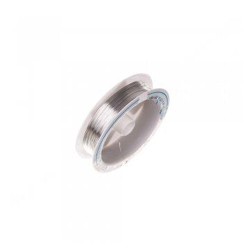Проволока медная серебристая 0,3 мм