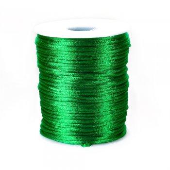 Шнур зелёный полиэстеровый 2 мм