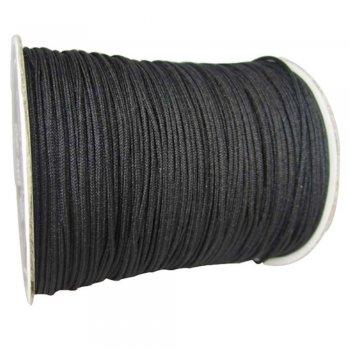 Нитка бавовняна чорний 1,5 мм