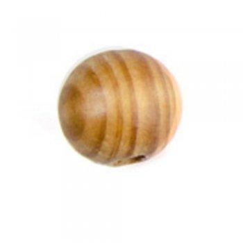 Куля 18 мм дерев'яні намистини з сосни