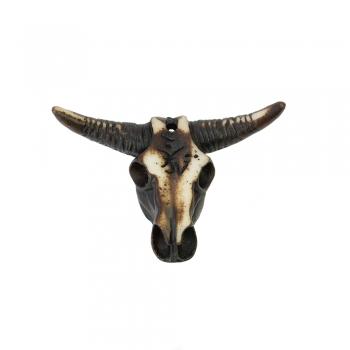 Этнический пластик голова быка