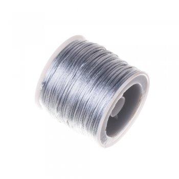 Шнур полиэстеровый 1 мм серый