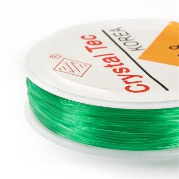 Резинка силиконовая толстая зеленая 0,8 мм