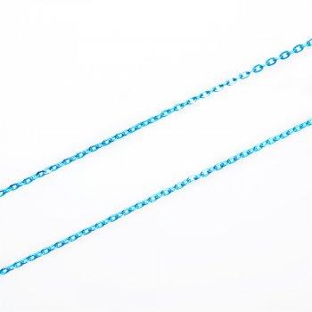 Цепь цветная мелкая якорная 3х4х0,6 мм
